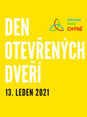 Den otevřených dveří 13. ledna 2021