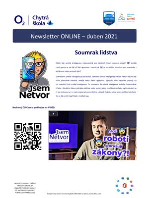 Newsletter duben