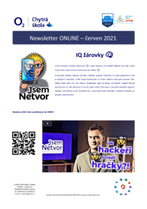 Newsletter O2 Chytrá škola – červen